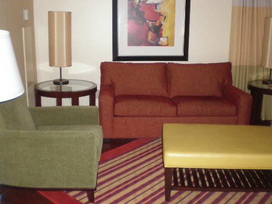 Renaissance Charlotte SouthPark Hotel: Sitting area