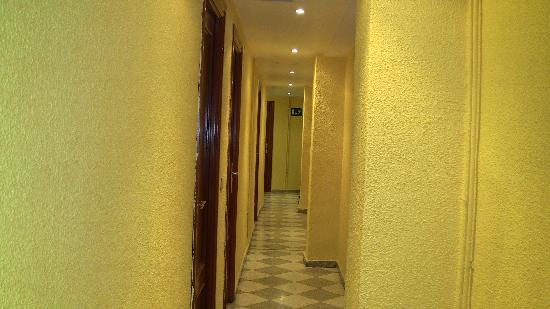 Pension Alcazaba: Corridoio