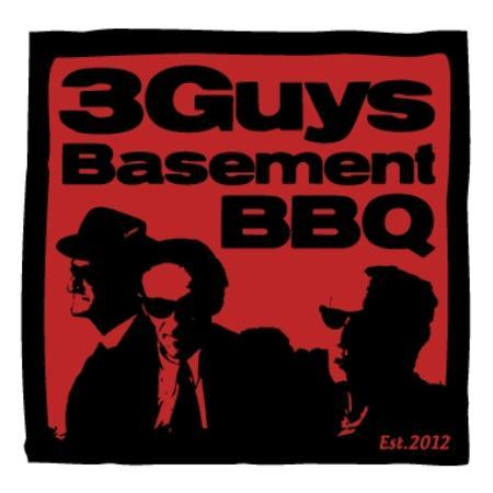 3 Guys Basement BBQ : Logo