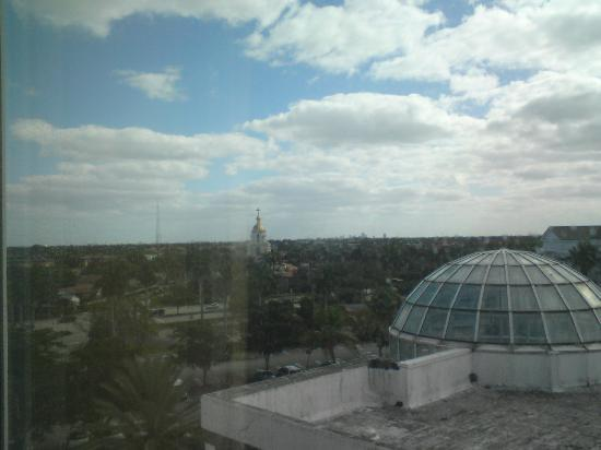 Sheraton Suites Fort Lauderdale Plantation: Best view I could get from my room
