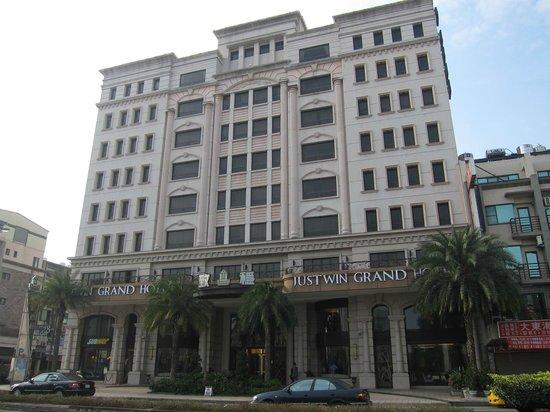 Justwin Grand Hotel: 外観