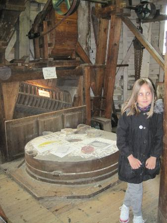 Upminster Windmill: INSIDE MILL