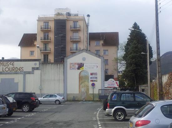 Les Jardins de Lourdes: Vista esterna