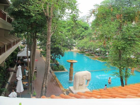 Avalon Beach Resort: Nice view frim the room