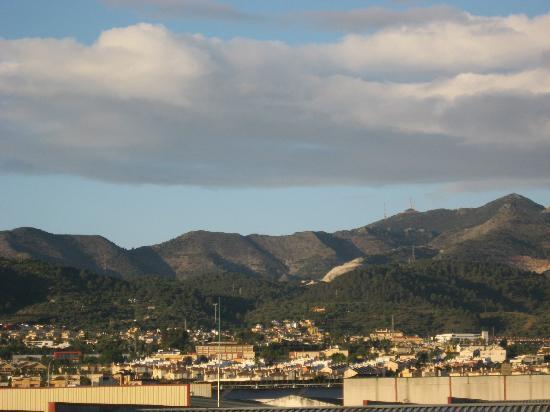Hotel Cortijo Chico: Ausblick aufs Hinterland