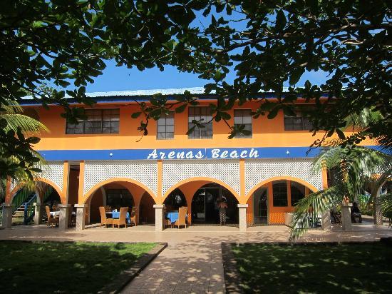 Arenas Beach Hotel Restaurant: Hotel and Restaurant