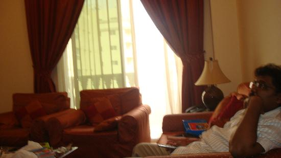 La Villa Najd: Balcony from Living Room
