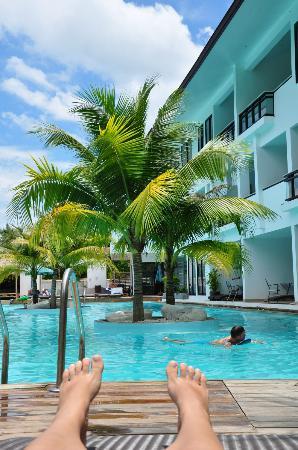 Sai Naam Lanta Residence: Poolbereich