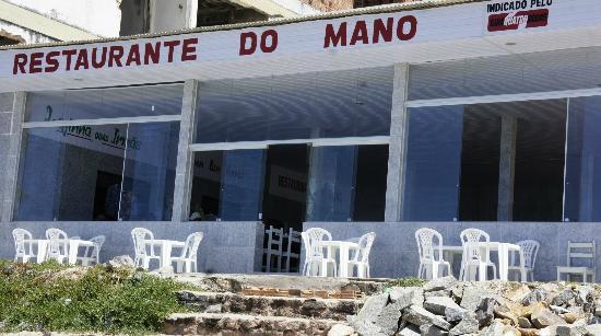 Restaurante do Mano : No meio do paraiso tem um restaurante - o do Mano.