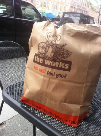 The Works Bakery Cafe: good food to go