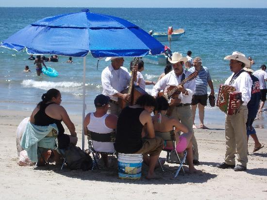 Nuevo Vallarta Beach : Nice beach in Pacific Mexico