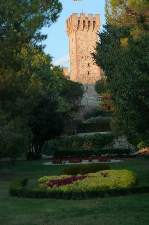 B&B Poeta : Este Castle garden view
