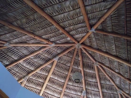 ‪‪Las Palmas Tropicales‬: Palapa Roof in the del Mar Casita‬