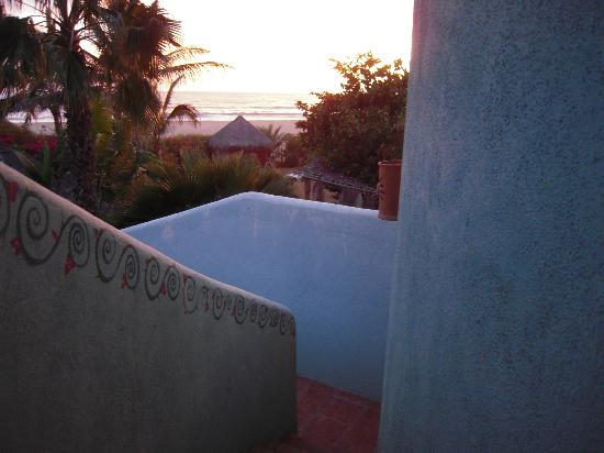 Las Palmas Tropicales: Sunset from del Mar Casita