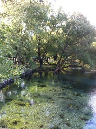 San Salvatore Telesino, Italie : percorso delle sorgenti
