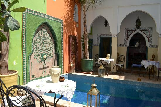 Riad Caesar: patio