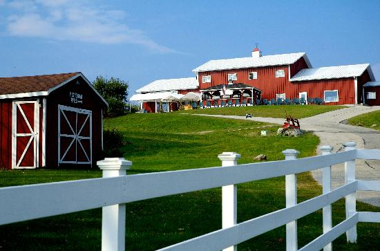 Richmond, MA: Hilltop Orchards, home of Furnace Brook Winery - the Berkshires