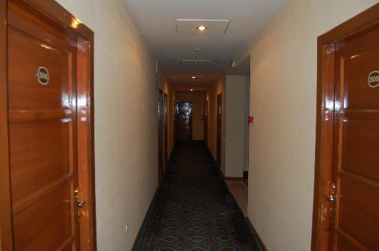Hotel Grand Raddus JSS: Hotel hall