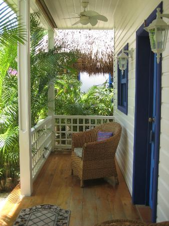 La Posada Azul: the porch room #6