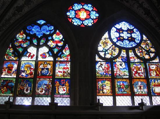 Berner Münster: Vidrieras de la catedral