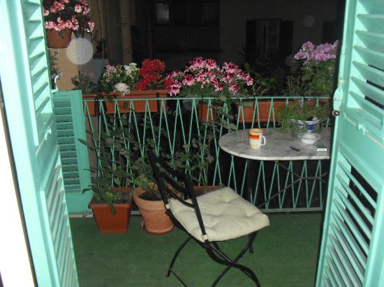 B&B Biancagiulia: Our balcony