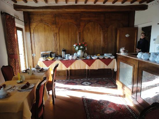 Hotel Vecchia Oliviera: Breakfast Buffet