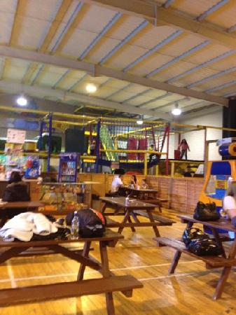 Hunters Quay Holiday Village : play area indoors