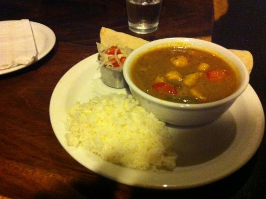 Cafe Campestre: The AMAZING chicken curry
