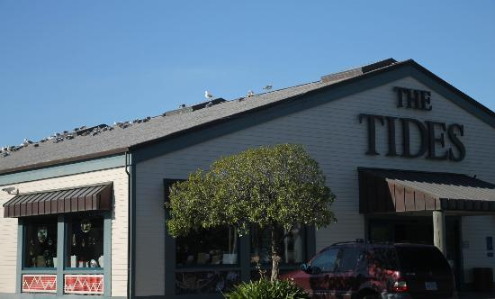 Front of Tides restaurant
