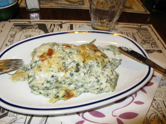 Osteria Al Diavolo E L'acquasanta : Very delicious Crab Lasanga