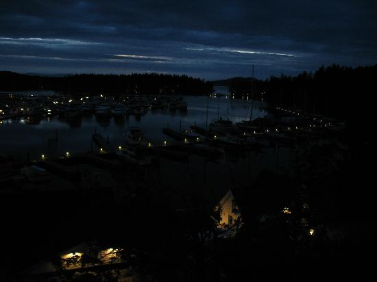 Roche Harbor Resort: A wonderfully peaceful nights rest.