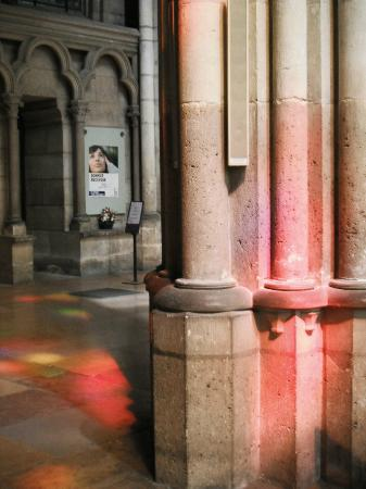 Basilica Cathedral of Saint-Denis: The light through the stained glass was magical