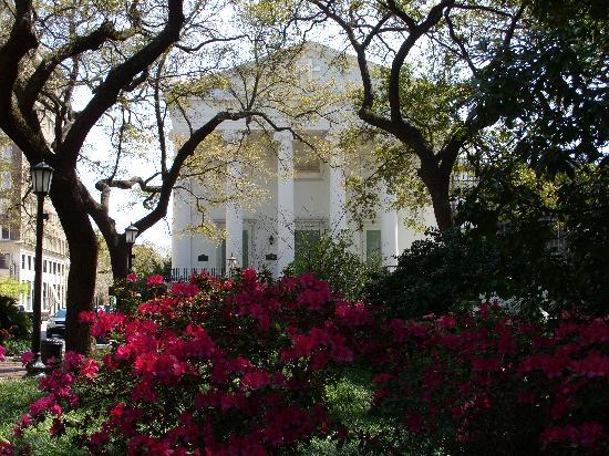 Bonnie Blue Walking Tours of Savannah : Christ Church