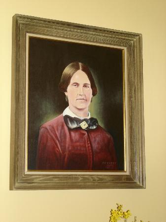 Surratt House Museum: Portrait of Mary Surratt.