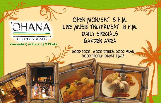Ohana Cafe: Ohana Cozumel