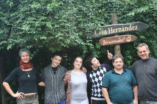 Casa Hernandez: El cartel !!!!