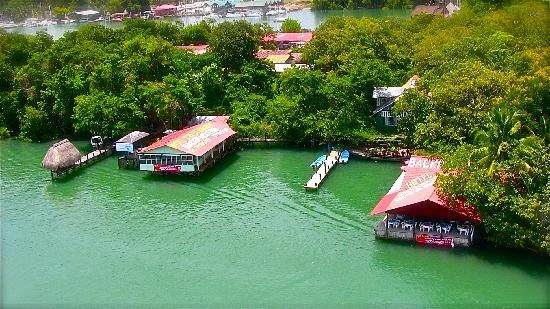 Hotel Backpackers & Restaurant: View from the bridge