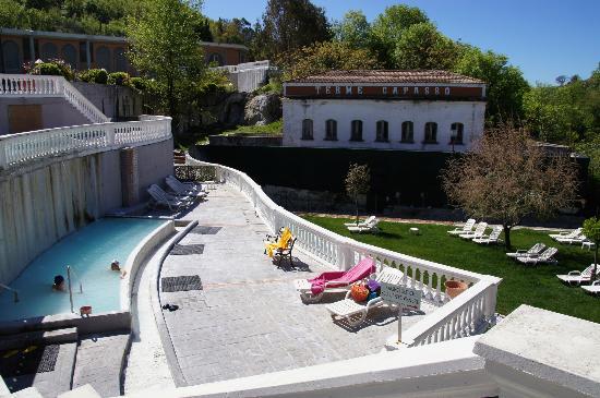 Hotel Terme Capasso: Wading pool on lower level