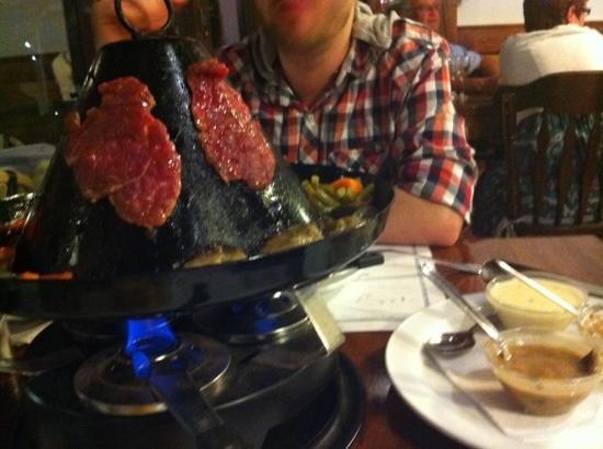 La Pardela Restaurant: steak