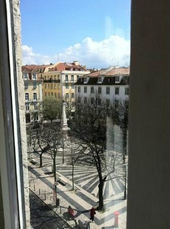 Lisbon Calling: View from 1987 room