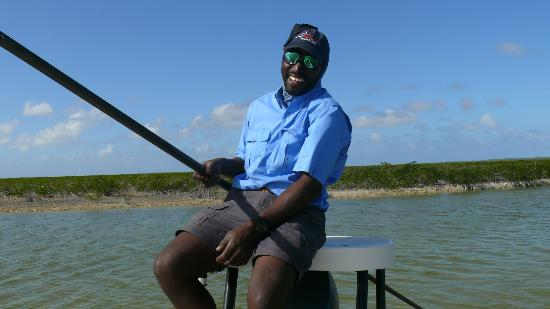 Da Reel Deal Fishing Charters: Hue Evans making us laugh! - Feb. 2012