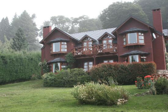 Costa Brava Apart Hotel: desde el solarium junto al lago Nahuel Huapi