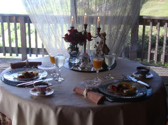 Penon Blanco Lookout: Beautifully presented and delicious breakfasts!