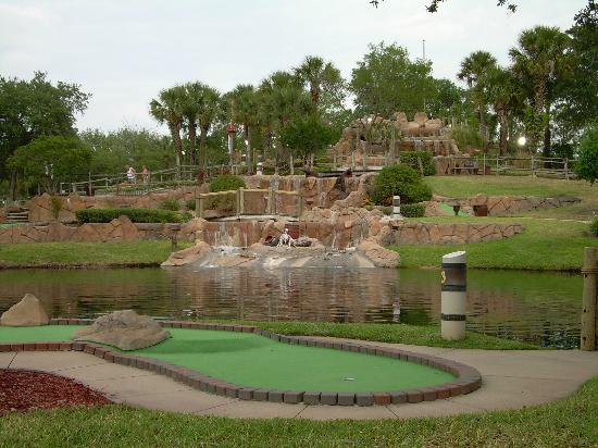 Pirate's Cove Adventure Golf: One view