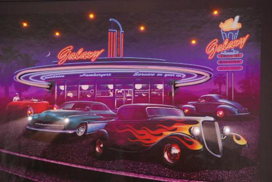 Parker's Drive-In Restaurant : Photo on wall at Parkers