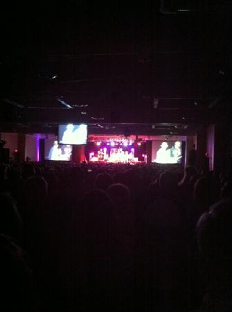 Blue Gate Theatre: sawyer brown concert, very last row view! looks better than picture justifies but it was taken w
