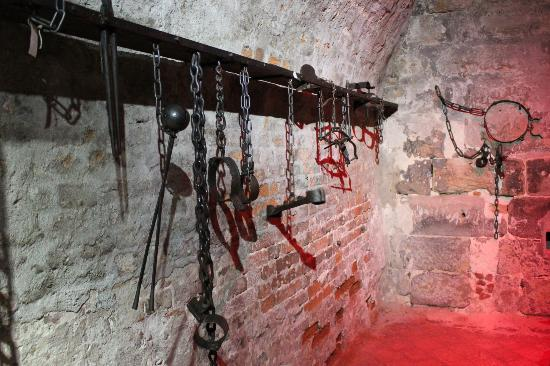 an analysis of torture room