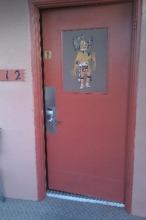 Pow Wow Inn : Door #2 leading to the pool area