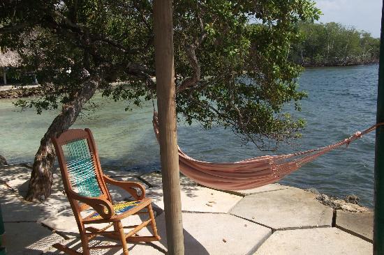Hotel Puntanorte: Hammock under cabana