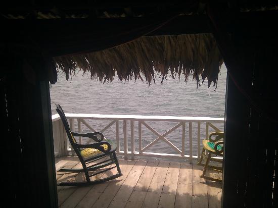 Hotel Puntanorte: View of the balcony